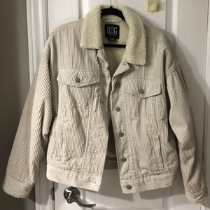 Corduroy Sherpa Urban Outfitters Jacket 🥰
